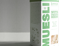 Packaging Design for Muesli