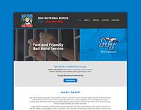 Website Design - Bad Boys Bail Bonds