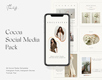 Cocoa Social Pack Instagram Templates Download PSD Now