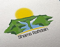 Logo design for Shams Al Rafidain Company in Jordan