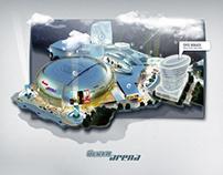 Ülker Arena Microsite '2009
