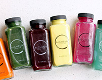 Alchemy Juice Bar Brand Strategy & Concepts
