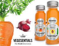 Stock photography for Vegesentials