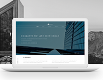 Landing page for residential complex