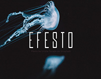 EFESTO - FREE CONDENSED SANS SERIF