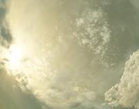 Terragen stereographic skies