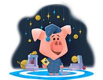 Bedtime Pig