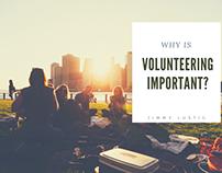 Jimmy Lustig   Why is Volunteering Important?