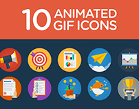 10 Animated GIF Icons (preview inside!)