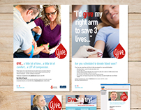 Corporate Internal Blood Drive Campaign