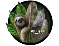Amazon Video Internal Branding Stickers