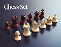 Chess Set by Webshocker