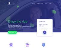Kuoodo Landing Page UI