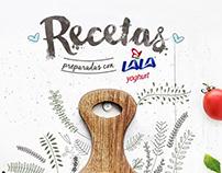 Template Recetas Lala Pinterest
