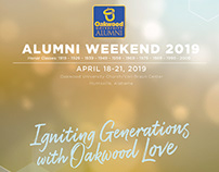 Oakwood Alumni Weekend 2019 Program