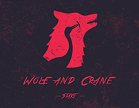 Wolf and Crane