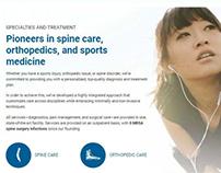 Web Design For A Medical Provider In CA