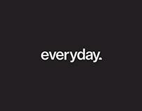 everyday. — logo design