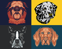 Golden Doodle Goods™ - Dog Breed Illustrations