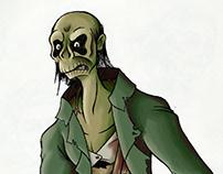 Frankenstein Drawings