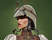 Lady Mechanika No.5 - 3D