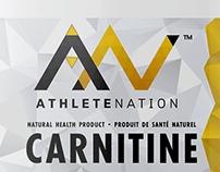 Athlete Nation - Design d'emballage