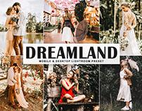 Free Dreamland Mobile & Desktop Lightroom Preset