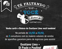 TIM - Campanha de Incentivo - show do Gusttavo Lima