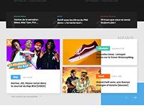 Refonte design BOOSKA-P Webdesign pour l'actu rap