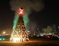 The Tree - Algiers Bonfire 2015