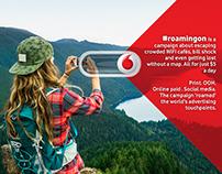 Vodafone #roamingon