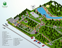 Map Park Elochki | Карта Парк Ёлочки