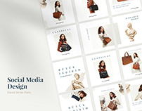 David Jones Paris/ Social Media Design