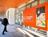 Wayfinding for WESTON FAMILY LEARNING CENTRE