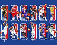 The Next NBA logo? NBA Logoman Series