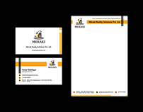 Stationery Design - Meraki Realty Solutions