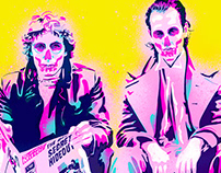 'Withnail and I Skulls'