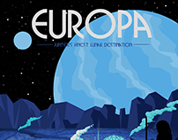 Europa Tourism Poster