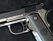 Custom 9mm Pistol (3D)