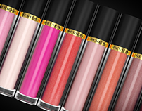 Revlon Lipgloss - Product Visualisation in Cinema 4D