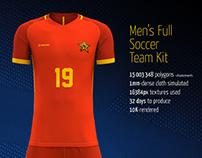 Men's Full Soccer Team Kit