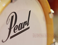 Pearl Drum Kit - Photography