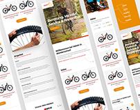Branding & Webdesign bike shop VeloIn