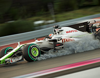 Brawn GP (Ferrari SF70-H model)