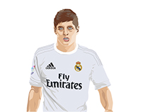 "vector portrait ""Kroos"