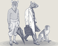 The Rat Race - Part of the oFF aRT Series