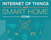 Internet Of Things and Smart Home Icons