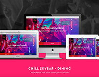 Chill Skybar - Dining Website