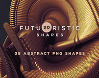 Free 3D Abstract Shapes 16
