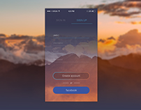 Daily UI / #001 Sign Up